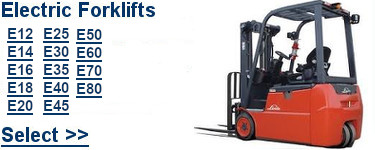 Select Linde Electric Forklifts